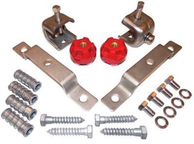 Tinned Copper Ground Busbar Kit -
