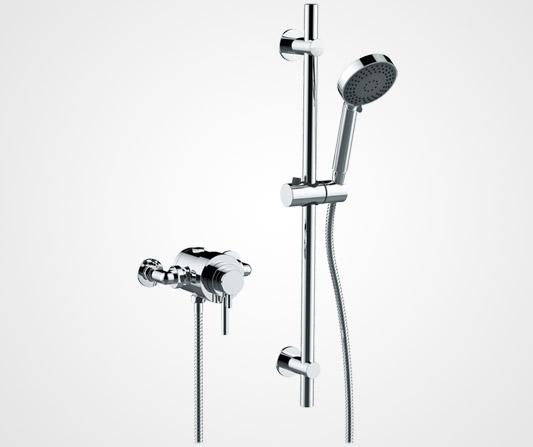 Exposed concentric shower valve - British Faucet