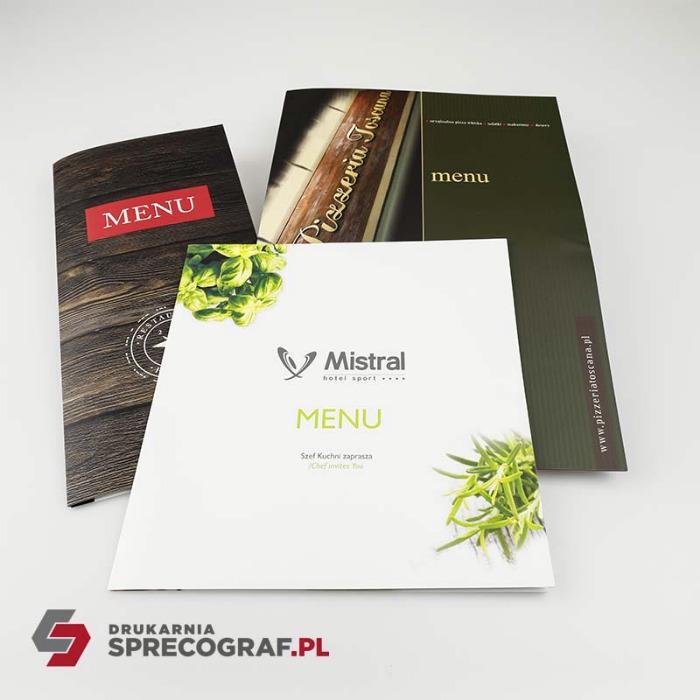 HoReCa Hotel prints and maps - key cards holders, door hangers, menu, notebooks, maps