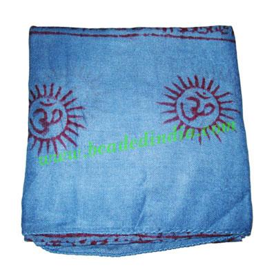 Yoga Scarves, Material : staple rayon, size 164x62 CM.