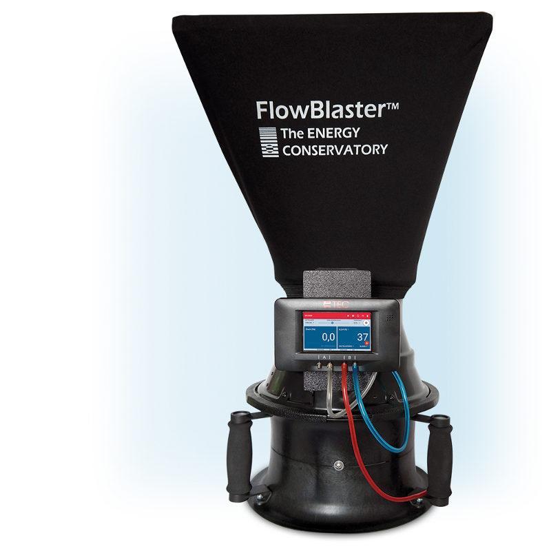 Minneapolis FlowBlaster - Prüfung und Einregulierung von Zu- und Abluftventilen der Lüftungsanlage