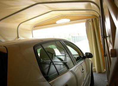 Abri voiture PVC pliant  - XS
