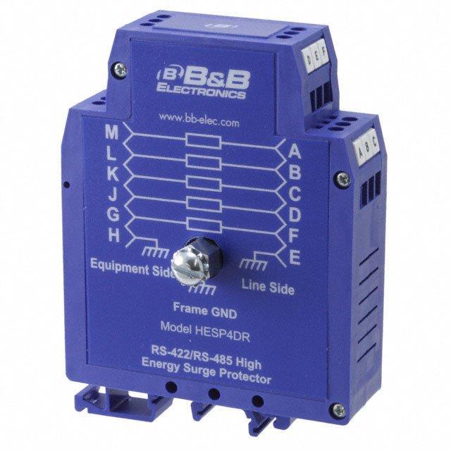 DATALINE SURGE SUPPRESS DIN RAIL - B&B SmartWorx, Inc. HESP4DR