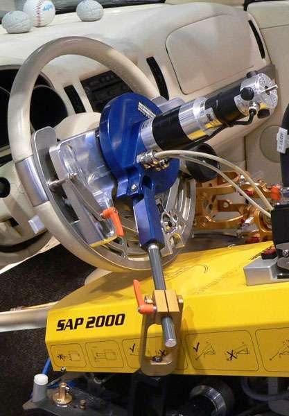 Steering Robots - SSP-FF for steering tests