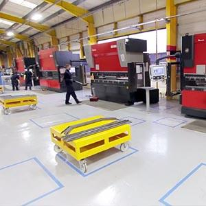 CNC Folding  - CNC Metal Folding