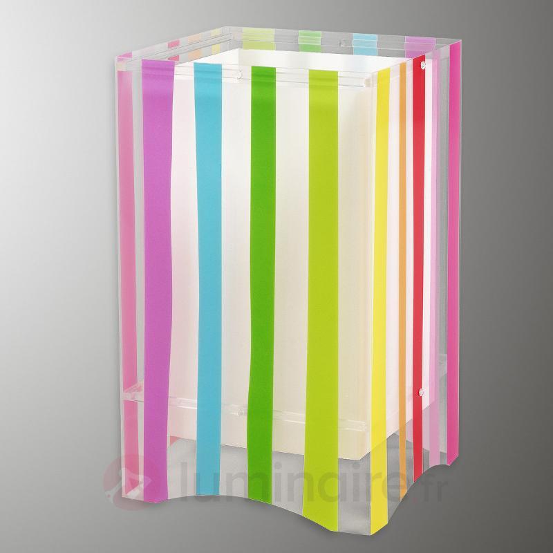 Lampe à poser Decoline colorée p. chambre d'enfant - Chambre d'enfant