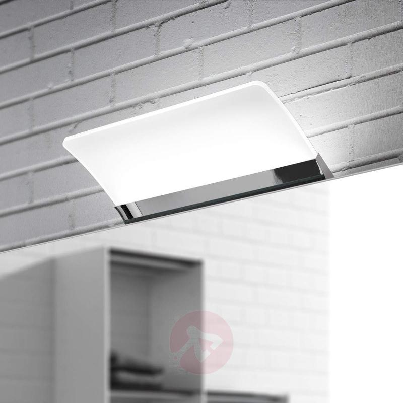 Flat LED mirror light Angela, IP44, 16 cm - Wall Lights