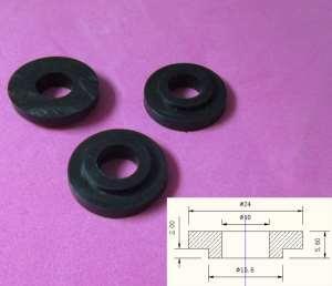 """rubber seal - 1/32"""" 1/16"""" 1/8"""" 1/4"""" 1/2"""" 1"""" 2"""" silicon rubber seal ceramic tank seal"""