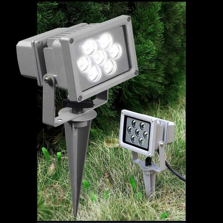 Projecteur d'extérieur LED Seven, piquet à planter - Lampes à planter