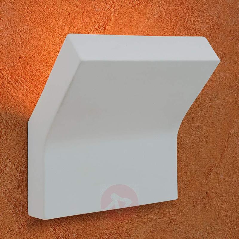 Inja Wall Light Plaster White