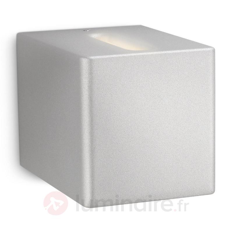 Applique Cubo éclairage à effets en aluminium - Appliques chromées/nickel/inox