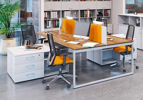 Офисная  мебель для персонала Джет - Офисные столы для офиса Open space