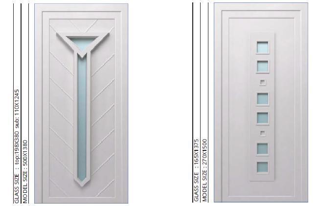 PVC THERMO DOORS - PVC DOORS