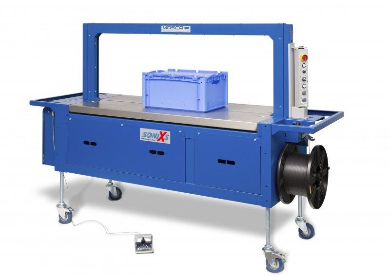 Evolution SoniXs MC-6 - Máquina flejadora totalmente automática