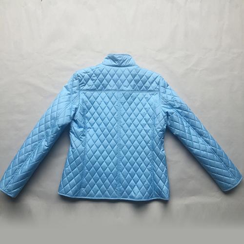 женские голубые хлопок-проложенные одежды -
