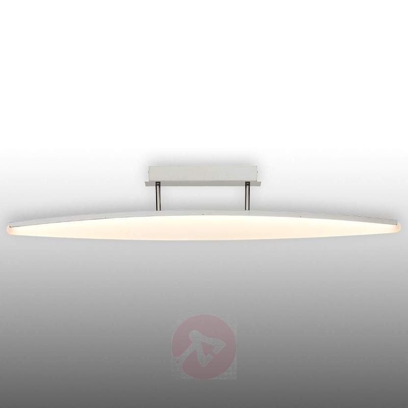 View LED ceiling lamp with curved lampshade - Ceiling Lights