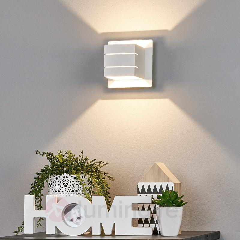Applique LED Lemalia avec éclairage bilatéral - Appliques LED