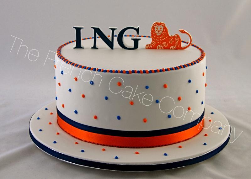 Gâteaux et Pièces Montées sur-mesure - Gâteau Anniversaire ING