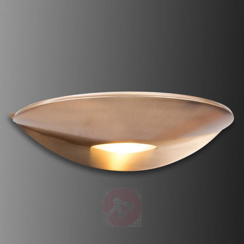 Mia - LED wall light, bronze - Wall Lights