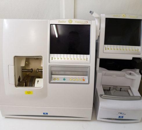 Essilor kappa CTD 2007 - Meuleuses