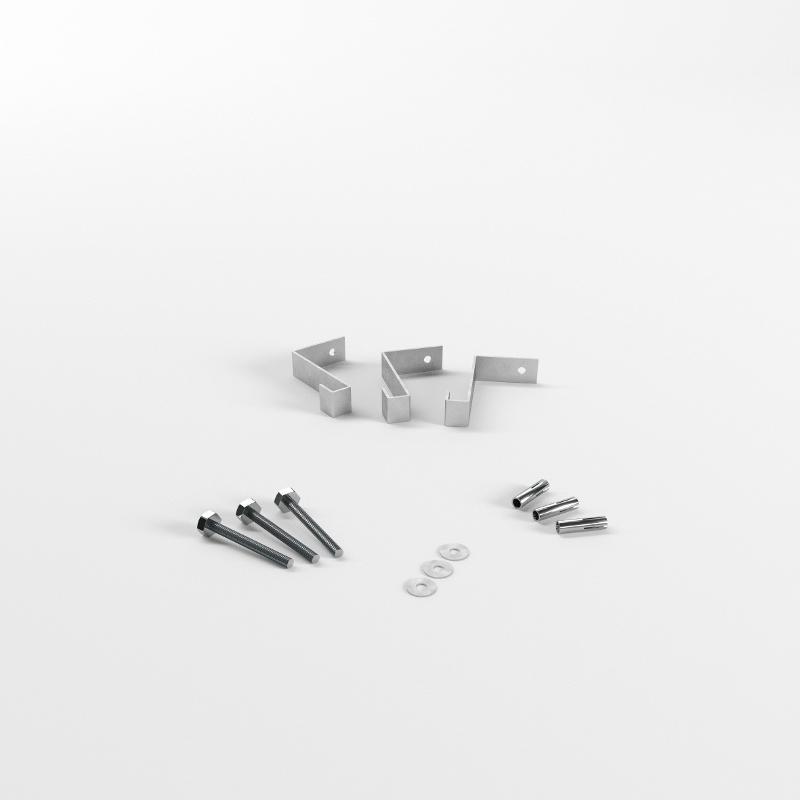 Abschottungssysteme Systemkomponenten - 15er Befestigungs-Set (Rohre bis Ø 110)