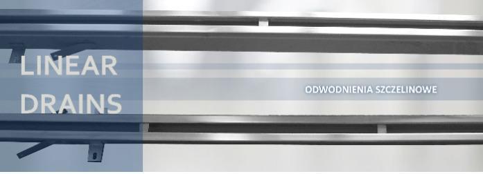 المصارف الخطية - القنوات - حلول فردية من الفولاذ المقاوم للصدأ