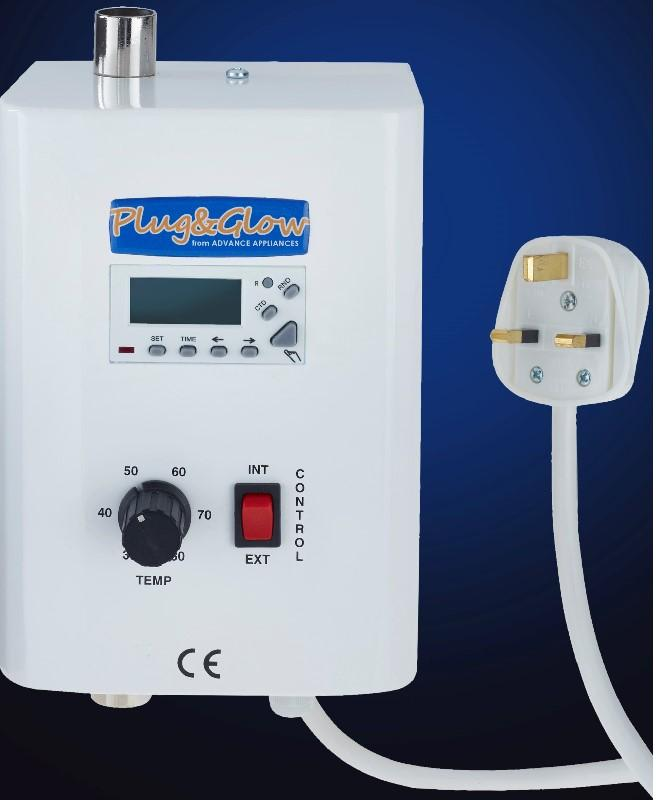 Plug N Glow - Plug N Glow 2.7kW mini electric flow boiler