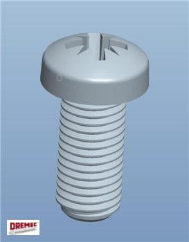Cross Recessed Oval Head Screw - null