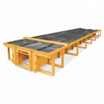 Equipment for concrete plants - Molds for sheds