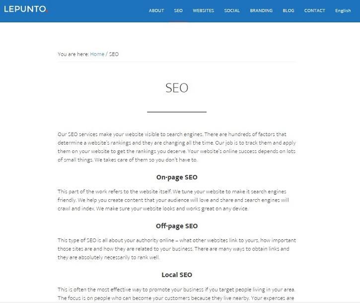 SEO  - Posicionamiento en buscadores, optimización en motores de búsqueda