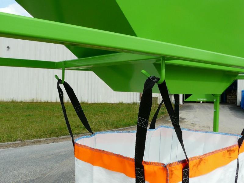 Trémies de remplissage big-bag sur pieds - Trémies
