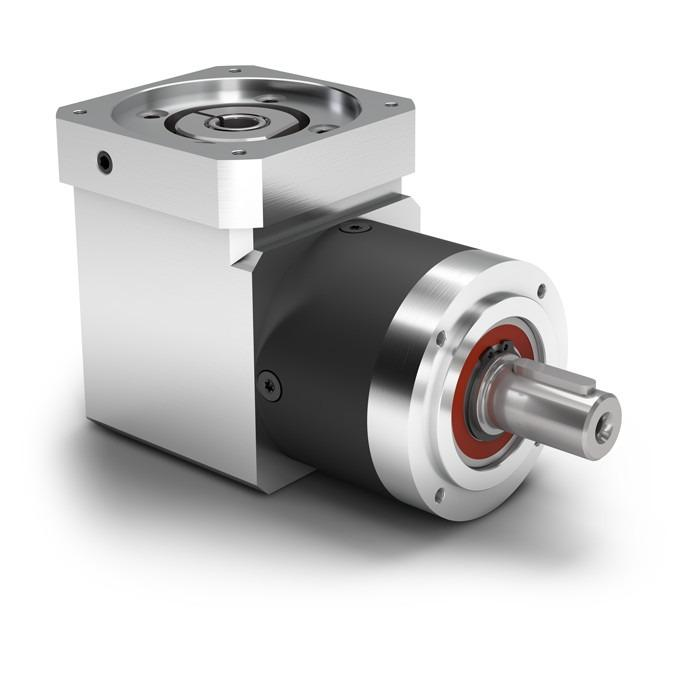 Right Angle Planetary Gearbox WPLE - Economy Gearbox with Output Shaft - Spur gear - Bevel gear right angle stage