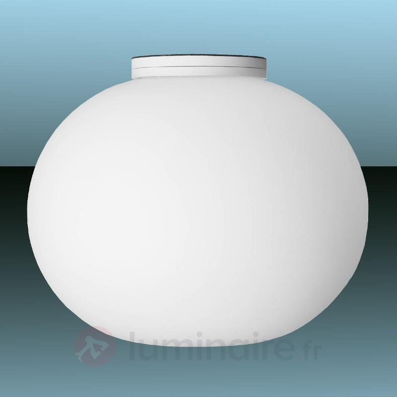 Plafonnier discret Glo-Ball C-W Zero - Plafonniers en verre