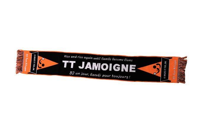 Echarpe de supporters - TT JAMOIGNE  (tennis de table)