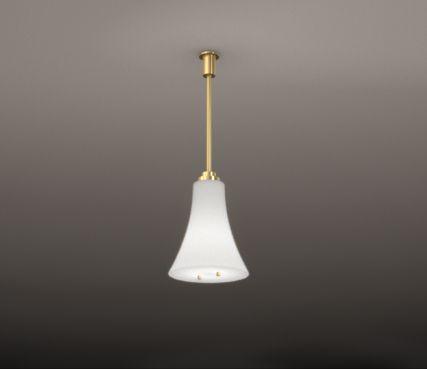 Glass pendant light - Model 2082