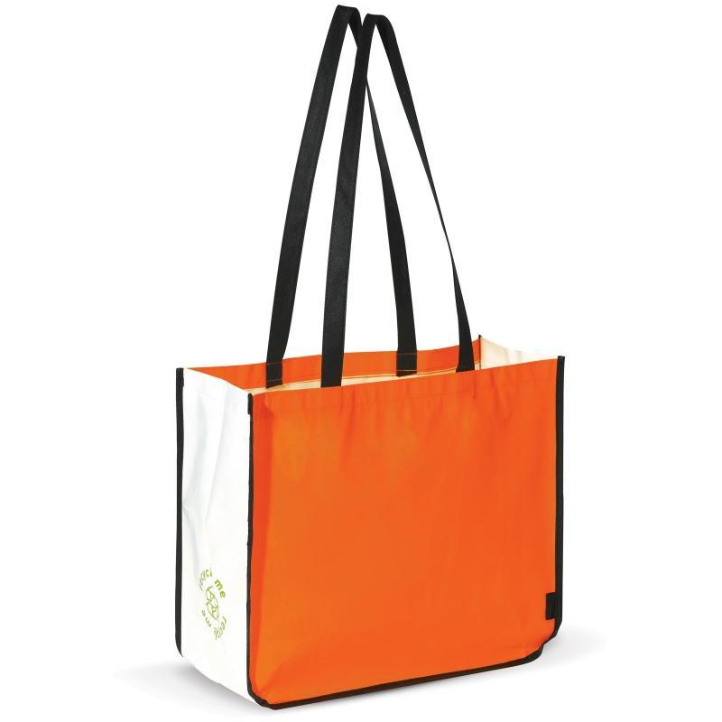 Shopper en PP non tissé laminé - Polypropylène (PP) non-tissé pelliculé