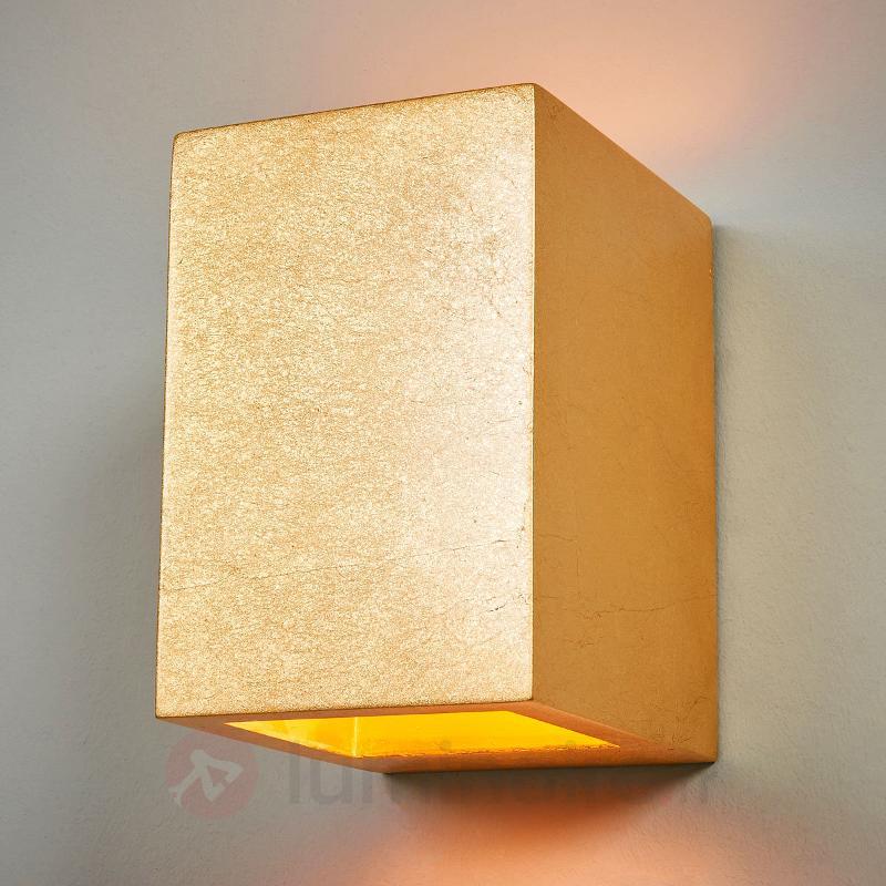 Applique dorée Janna pour une belle lumière - Appliques en laiton/dorées