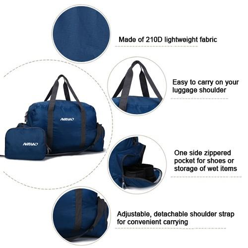 aa313971c98a8c Extra large dual handles duffel bag - Foldable Gym Duffle Bag with Shoes  Compartment ...