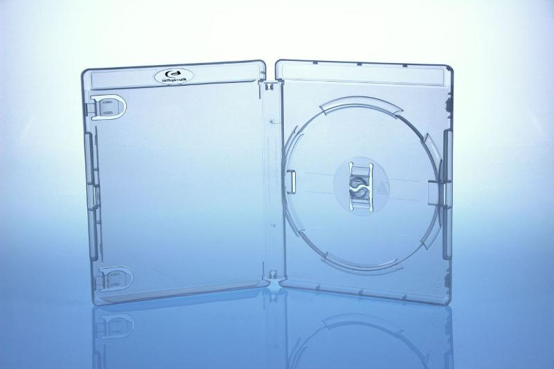 AMARAY BluRay Box - 15mm - transparent - bulkware - Gameboxen
