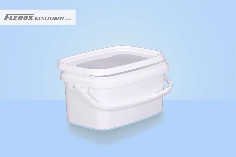 Rectangular buckets - FK-E 3.260 bucket, rectangular, PP