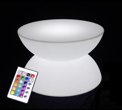 Location de table basse ronde lumineuse - null