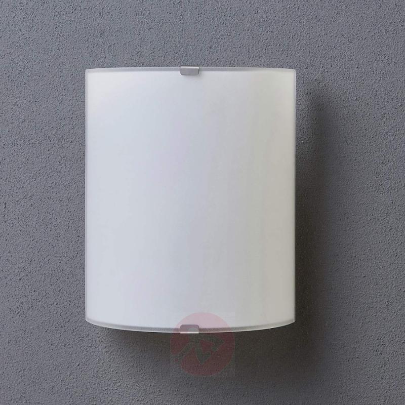 Simple glass wall light Phil - indoor-lighting