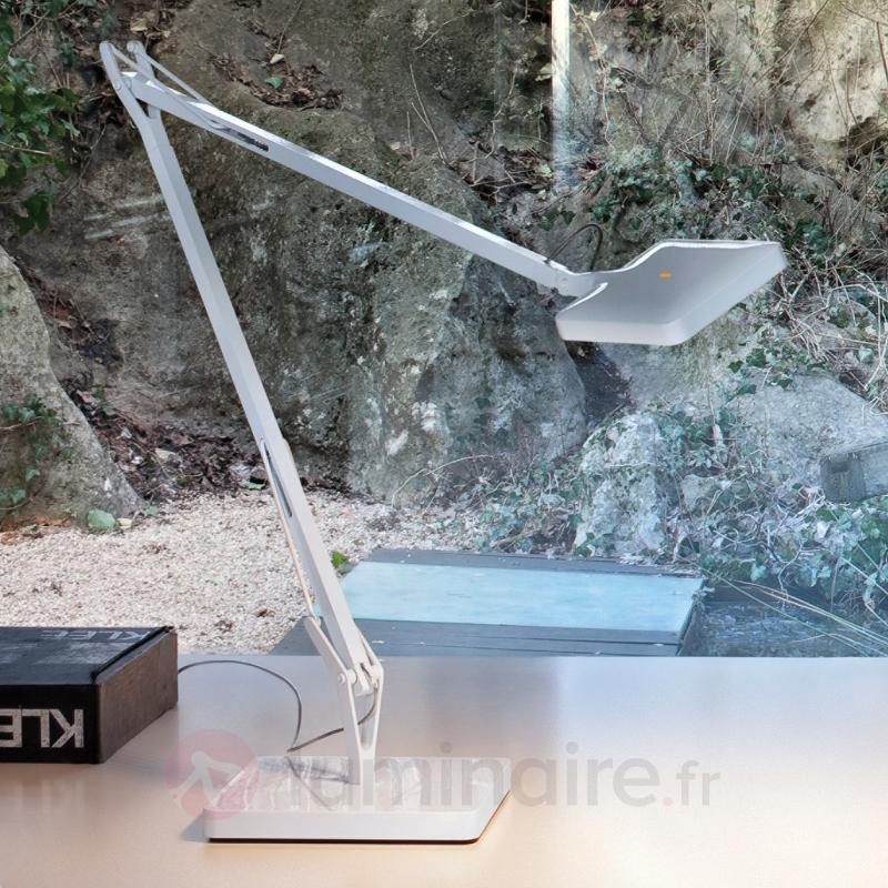 Lampe à poser LED KELVIN blanche - Lampes de bureau LED