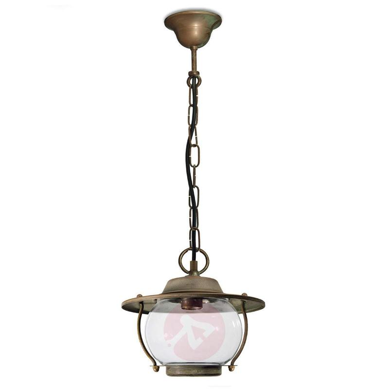 With chain - outdoor hanging light Adessora - Outdoor Pendant Lighting