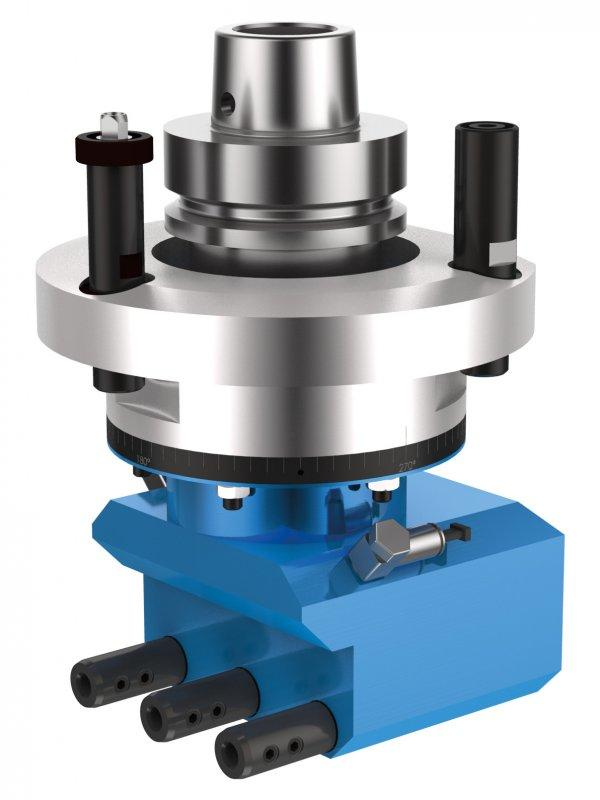 Multi-spindle head MULTI H3 - CNC multi-spindle head for machining of wood, composites and aluminium