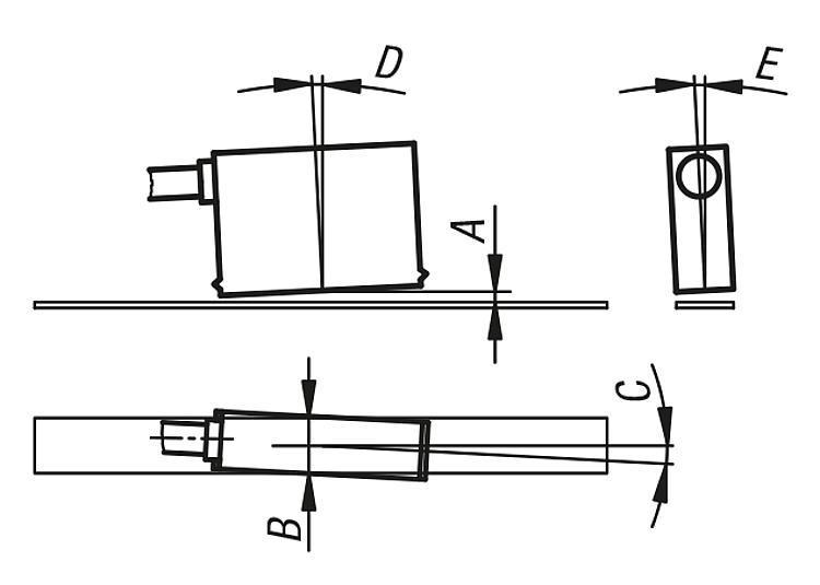 Capteur magnétique passif, taille miniature - Règles, indicateurs de position, nivelles