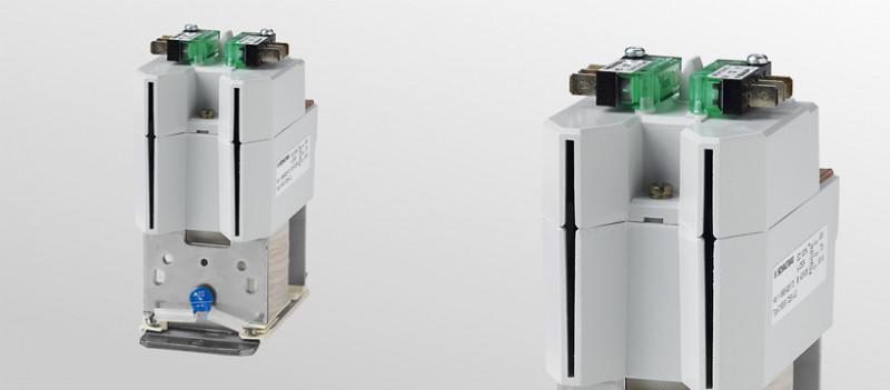 Magnetic latching DC NO contactors C195 S - Magnetic latching DC NO contactors without energy consumption during operation