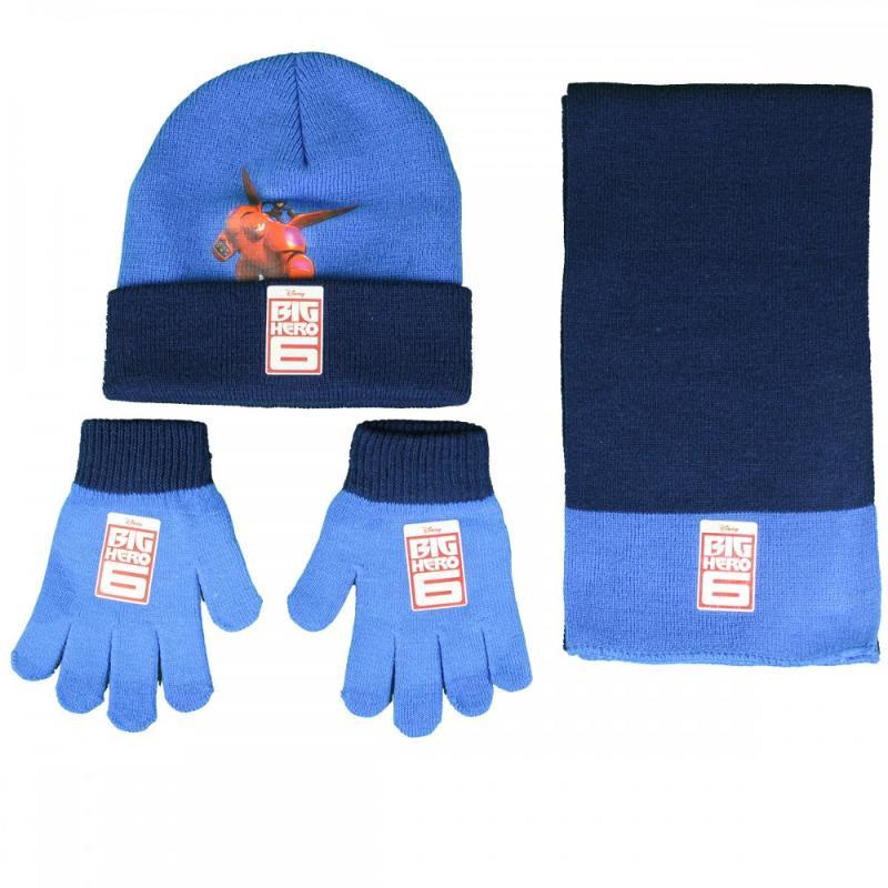 3x Echarpes et bonnets et gants Big Hero - Bonnet Gant Echarpe