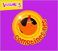 Comptines.net Vol. 5 - CD Audio | e-magine | 2007