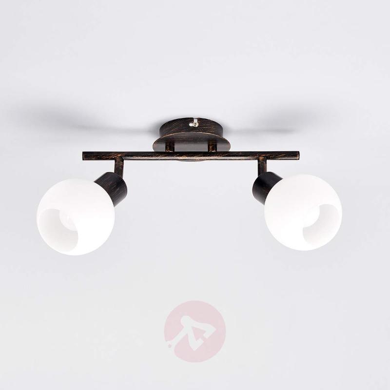 Auburn ceiling light Elaina, E14 LED light bulbs - Ceiling Lights